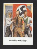 Offizielle Erinnerungspostkarte Zum 9. November 1938 - Politieke Partijen & Verkiezingen