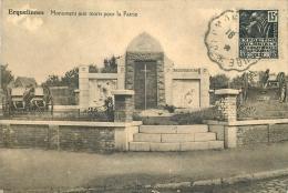 BELGIQUE ERQUELINNES MONUMENT AUX MORTS POUR LA PATRIE - Belgique