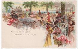 NICE - Carnaval - Batailles Des Fleurs  - Belle Illustration  (73461) - Carnaval