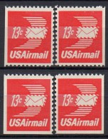 Etats-Unis - Poste Aérienne - 1973 - Yvert N° PA80 ** - Correo Aéreo