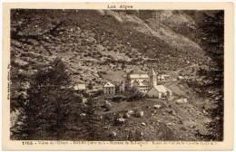 Vallée De L'Ubaye - Fours - Hameau De St-Laurent - Route Du Col De La Cayolle (éditeur Mlle Joubert) - France