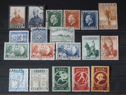 GRECE - Lot 1936/1939 (14 O / 5 * - Voir Scan) - Collections