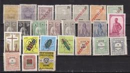GUINEE PORTUGAISE - Lot De 25 TP Différents - Poste , Taxe Et Bienfaisance  - Tous N* Ou (N) - Guinée Portugaise