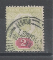 GRANDE-BRETAGNE:N°YT 109 OBLITÉRATION LONDON DU 11.11.1904  - COTE: 15.00€ - Unclassified