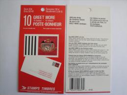 Canada Carnet Fermé C1160  ** 1990   Courrier De Noël - BK119 - 34c X 10 - Christmas, Greet More Booklet - Carnets Complets