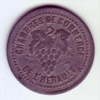Monnaie De Nécessité - 34 - Hérault - Chambre De Commerce De L´Hérault - 10c - - Monetary / Of Necessity