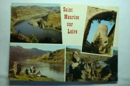 D 42 - Saint Maurice Sur Loire - France