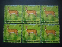 BURUNDI N°654 X 6 Oblitéré - Burundi