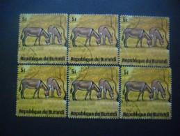 BURUNDI N°658 X 6 Oblitéré - Burundi