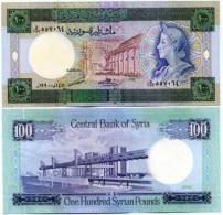 SYRIA - P104d - 1990 - 100 POUNDS Unc - Syrië