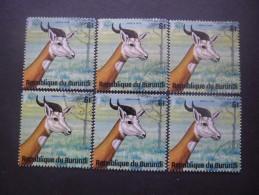 BURUNDI N°661 X 6 Oblitéré - Burundi