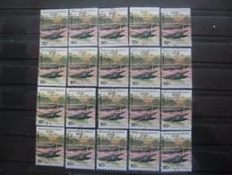 BURUNDI Poste Aérienne N°454 X 20 Oblitéré - Burundi