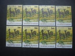 BURUNDI Poste Aérienne N°464 X 8 Oblitéré - Burundi