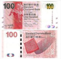 HONG KONG $ 100 STANDARD CHARTERED BANK 2013 UNC P 299 - Hong Kong