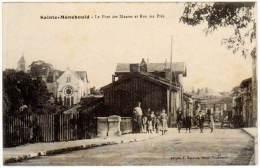 Sainte-Ménehould - Le Pont Des Maures Et Rue Des Prés (édition E. Moisson ) - Sainte-Menehould