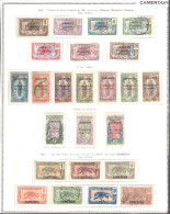 CAMEROUN P�tite collection */Obl. tr�s propre