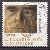 Allemagne Rep. Mi.nr.:2726 Geburtstag Von Golo Mann 2009  Oblitérés /Used / Gestempeld - [7] République Fédérale