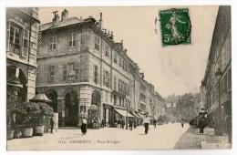 Chambéry, Place Saint-Léger, 1909, é. E. Reynaud N° 1172 - Chambery