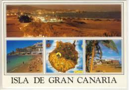ISLAS CANARIAS - GRAN CANARIA - Diversos Aspectos, W. Sand From Playa De Ingles - Gran Canaria