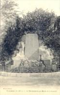 CPA TONNEINS - LE MONUMENT AUX MORTS DE LA GUERRE - Tonneins