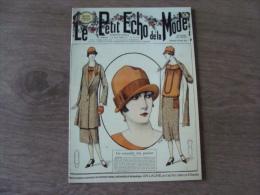 """Carte - Le Petit Echo De La Mode - """"Une"""" Du Petit Echo Du Dimanche 23 Août 1925 - CHATELAUDREN - Côtes D´Armor - Publicité"""