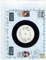 """John Lennon - 25th Anniversary Benham Vinyl Cover W/7"""" Just Like Starting Over, Geffen K79186 - Music"""