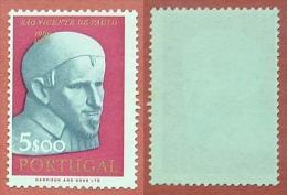1963 - 3º  Centenário D A M Orte De S . Vice Nte De Paulo - Afinsa Nº915 - S536 - Nuevos
