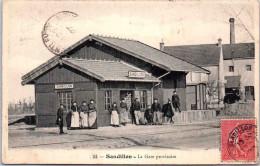 45 SANDILLON - La Gare Provisoire - Les Quais - France
