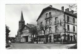 42 Loire Saint Just En Chevalet  CPSM Centre Poste Hotel De La Poste Ed Cellard Salle Des Fetes Neuve TBE - France