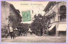 ITALIE -- VENTIMIGLIA -- Via Della Stazione - Imperia