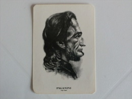 Composer Paganini Portugal Portuguese Pocket Calendar 1985 - Klein Formaat: 1981-90