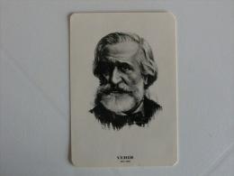 Composer Verdi  Portugal Portuguese Pocket Calendar 1985 - Klein Formaat: 1981-90