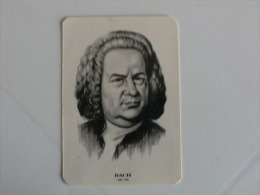 Composer Bach Portugal Portuguese Pocket Calendar 1985 - Klein Formaat: 1981-90