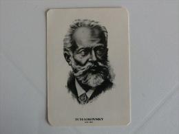 Composer Tchaikovsky Portugal Portuguese Pocket Calendar 1985 - Klein Formaat: 1981-90