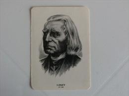 Composer Liszt Portugal Portuguese Pocket Calendar 1985 - Klein Formaat: 1981-90