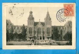 CP, Ryksmuseum, AMSTERDAM, Voyagé En 1911 - Amsterdam