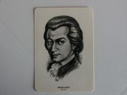 Composer Mozart Portugal Portuguese Pocket Calendar 1985 - Klein Formaat: 1981-90
