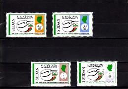 Sudan Nº 571 Al 574 - Sudan (1954-...)