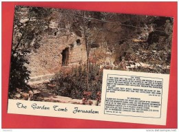 H1121 ISRAEL JERUSALEM THE GARDEN TOMB  1977 BEAU TIMBRE CACHET - Israel