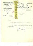 52 - Haute-marne - CHAUMONT - Facture GRELICHE - Fabrique De Caisses – 1934 - REF 139 - France