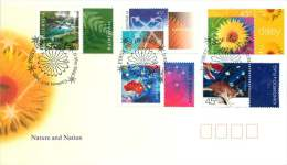 2000   Nature And Nation Stamps For Persanalisation Of Tabs -  5 Different - FDC
