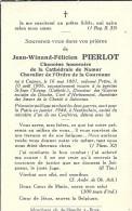 CUGNON ..-- CHANOINE Jean PIERLOT , Né En 1881 , Mort Pour La Patrie En 1944 à NEUTITSCHEIN . - Bertrix