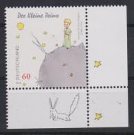 D 696) Deutschland MiNr 3102 ** R: Der Kleine Prinz Auf Seinem Asteroiden, Fuchs; Erzählung Von Antoine De Saint-Exupéry - Music