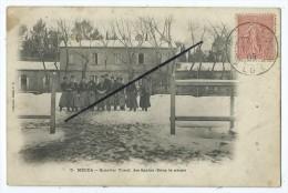 CPA - Médéa - Quartier Yusuf,des Spahis (Sous La Neige) - Postcards