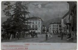 Luino (Varese). Piazza Vittorio Emanuele. - Varese