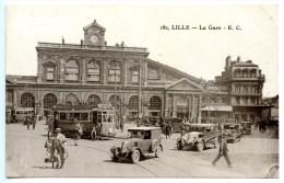 Lille, La Gare, Bahnhof, 30.8.1941 - Lille
