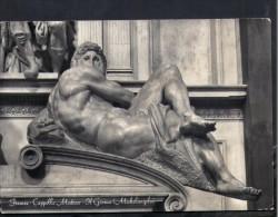 J515 Il Giorno, Statua Di Michelangelo - Statue, Sculpture, Sculptur - Firenze, Cappelle Medicee - Sculptures