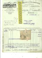 59 - Nord - CAMBRAI - Facture DUROYON & RAMETTE - Manufacture De Chicorée – 1932 - REF 139 - France
