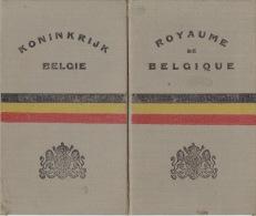 ROYAUME DE BELGIQUE - CERTIFICAT plaque pour automobile - motocyclette  d�livr� � BRUGGE en 1928
