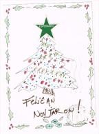 K1360 Esperanto - Felican Novjaron - Buon Natale - Noel - Christmas / Viaggiata 1981 - Esperanto